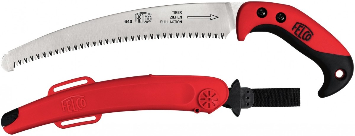 Felco 640 Curved Pull Stroke Pruning Saw