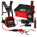 FELCO 822 FELCOTRONIC STRONG MULTIPURPOSE MODEL WITH 882 POWER PACK,  916 LEATHER HOLSTER AND LARGE CAPACITY BATTERY (880/194)