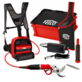 FELCO 822 FELCOtronic, 882 POWER PACK,  916 LEATHER HOLSTER AND SINGLE CAPACITY BATTERY