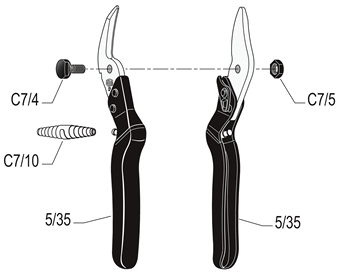 FELCO CP All-Purpose Industrial Pruning Shear